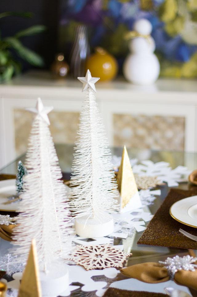 white bottlebrush trees