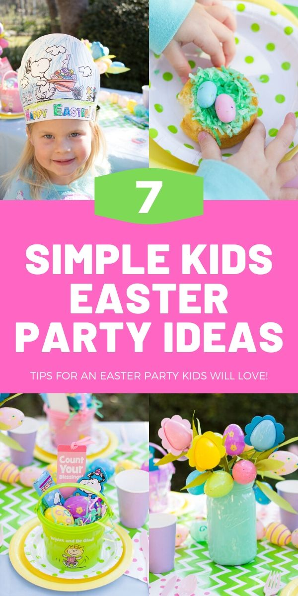 7 Simple Kids Easter Party Ideas