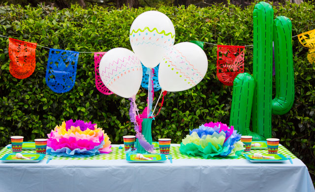 Love these simple ideas for a Cinco de Mayo celebration!