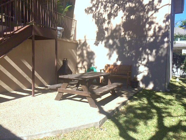 Outdoor patio makeover - the before!