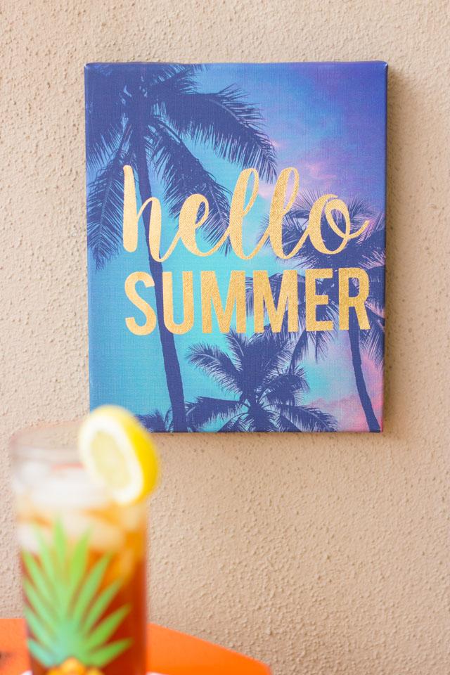 Hello summer print - I love this!