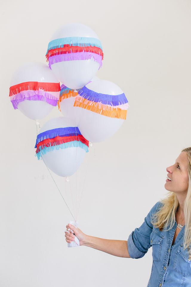 DIY pinata balloons!