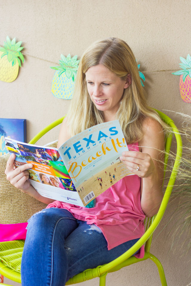 How I turned my patio into a summer reading nook!
