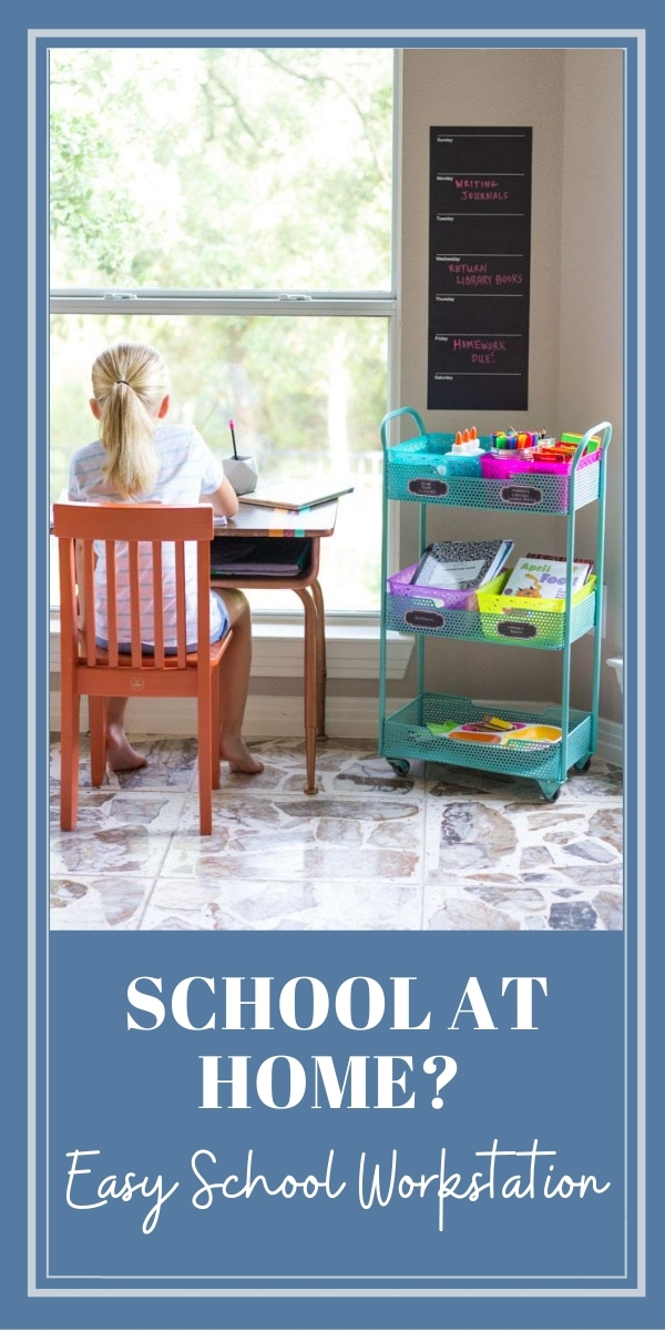 How to make a school workstation at home
