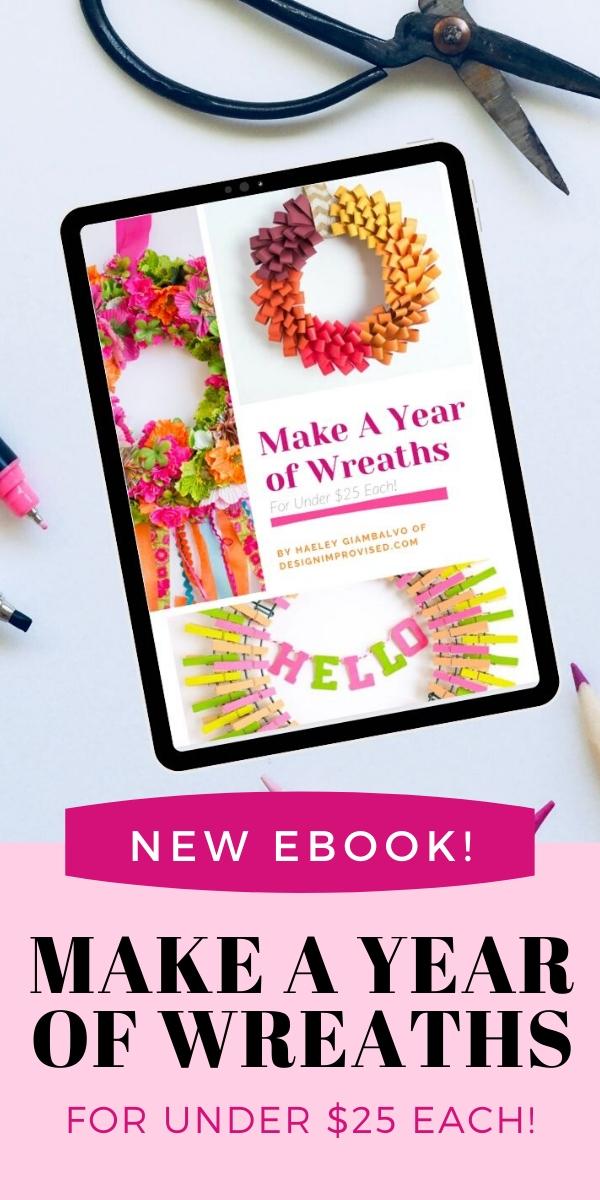 Make a Year of Wreaths Ebook