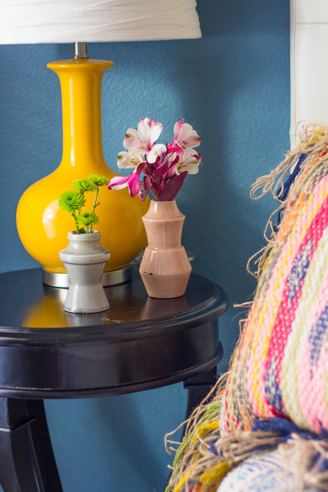 Bedside flower bud vases from Home Decorators Collection