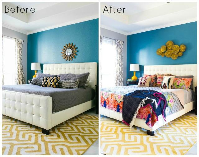 Master bedroom design ideas: one bedroom, two looks!
