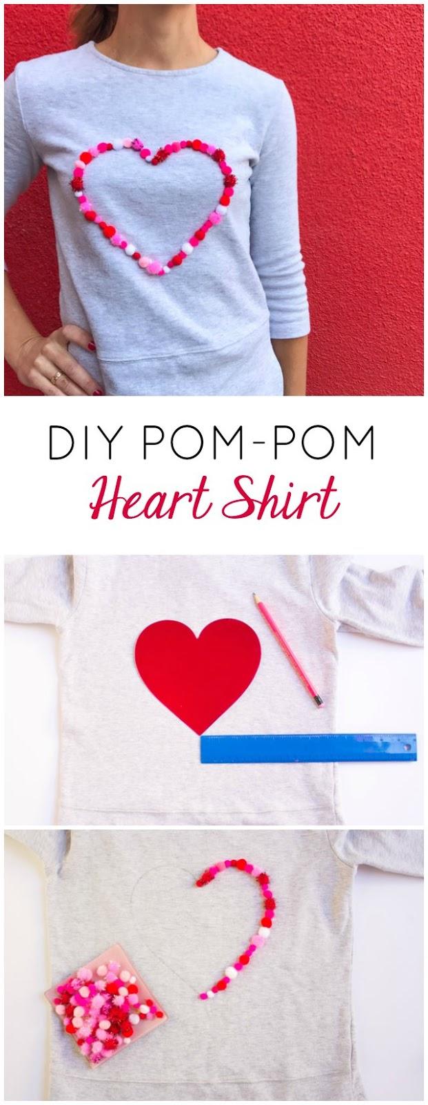 Kids Valentine's Day Shirt Idea