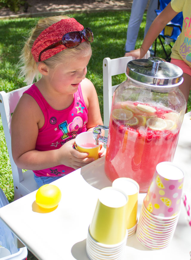 Have the coolest lemonade stand on the block with these fun DIY ideas!
