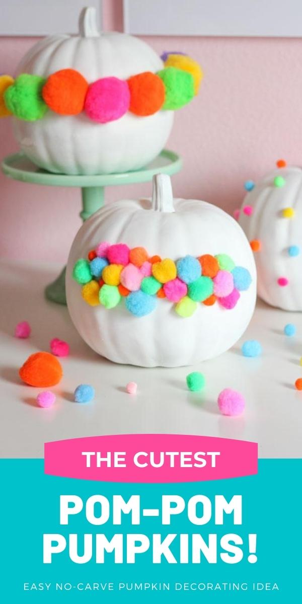 The Cutest Pom-Pom Pumpkins!