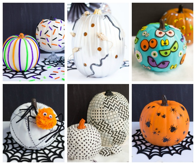 Pumpkin Decorating Ideas from Design Improvised
