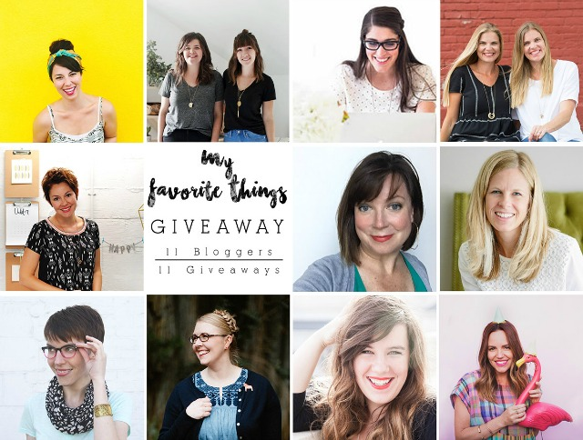 Some of my favorite bloggers are joining forces for this holiday giveaway!