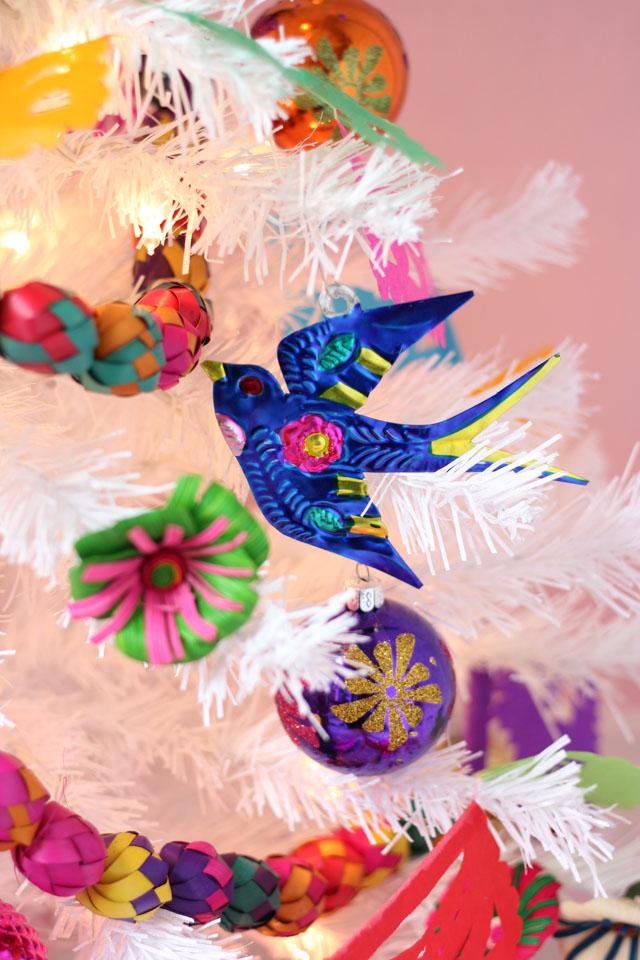 Fiesta Christmas tree decorations