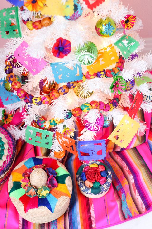 Fiesta Christmas tree decorating ideas
