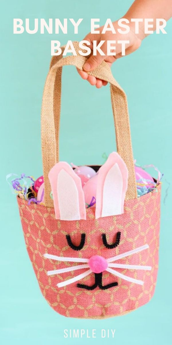 DIY Easter Bunny Basket