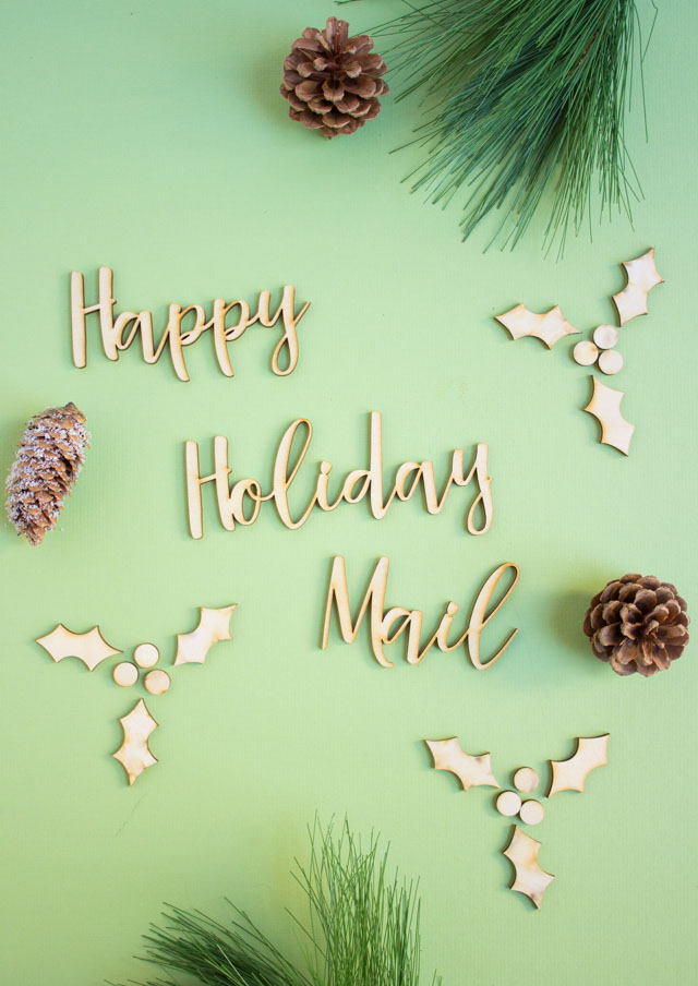 Holiday Happy Mail #craftcuts