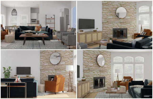 The coolest 3d room design service from Modsy! #modsy #virtualroomdesign #3droomdesign