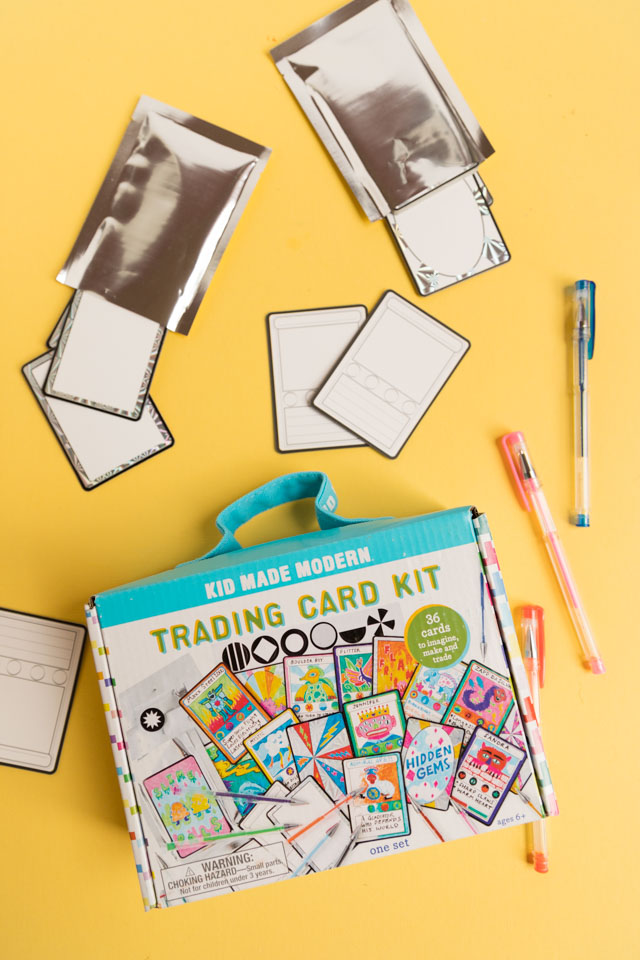 DIY Mother's Day Cards - make Super Mom cards with this trading card kit!