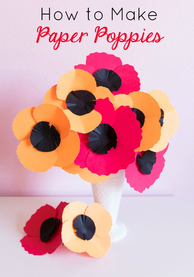 How To Make Easy Paper Poppies Design Improvised