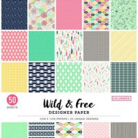 Patterned paper