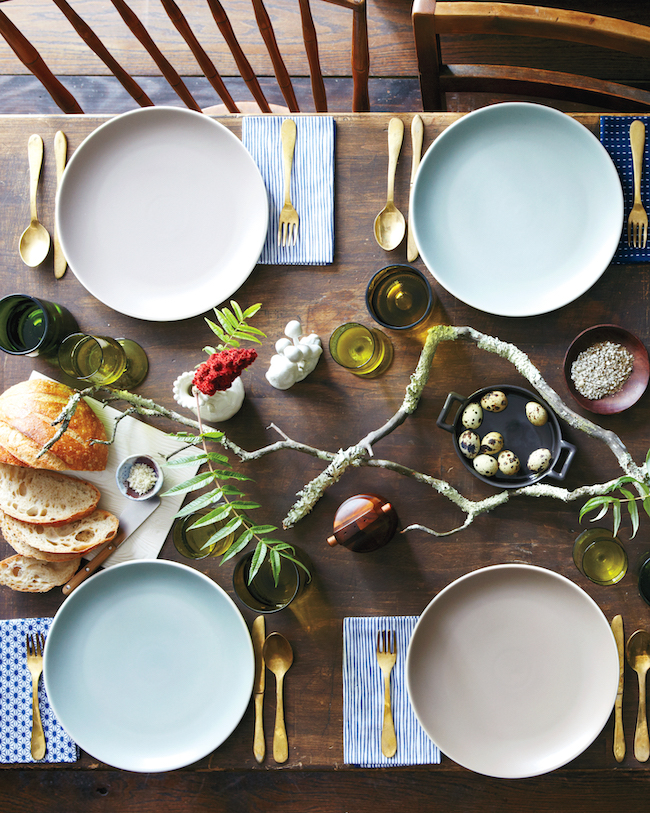 Foraged Thanksgiving Table from Martha Stewart