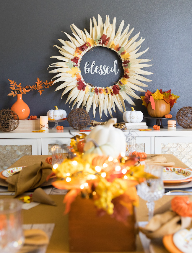 Blessed wreath made from cornhusks