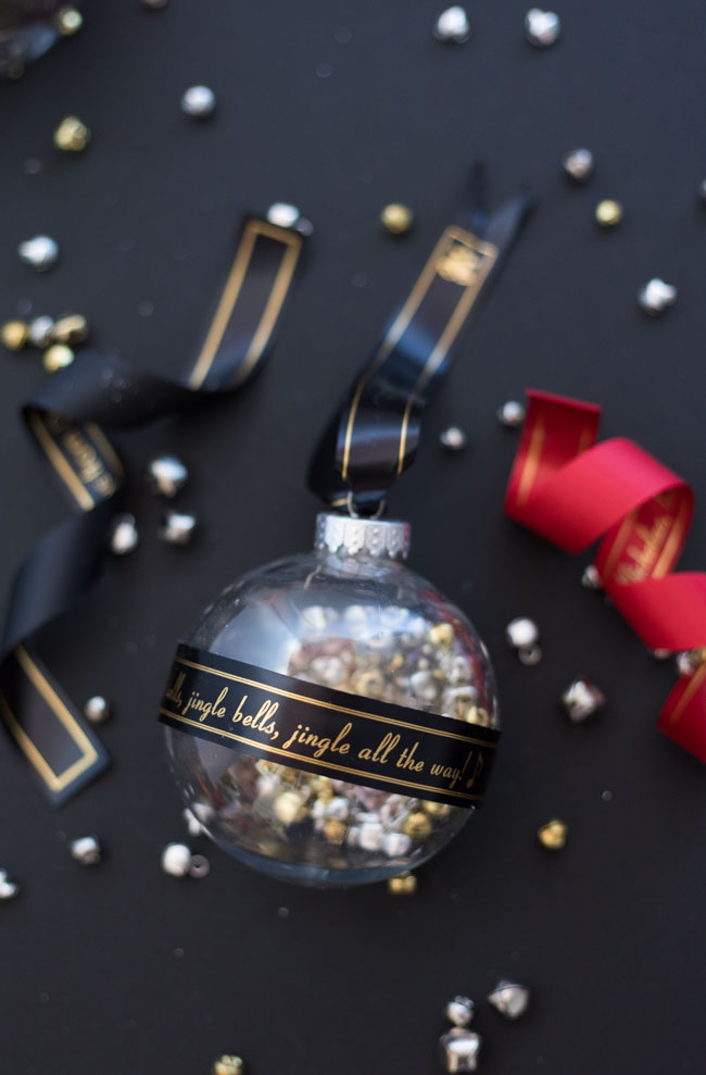Ornament with Jingle Bells lyrics