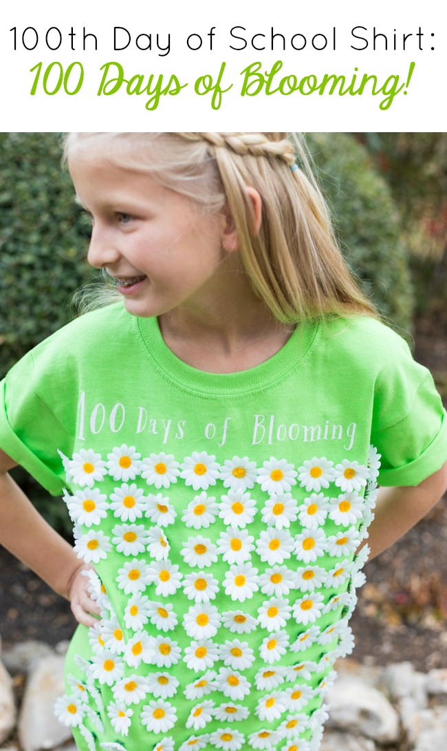 100 Days of Blooming Shirt