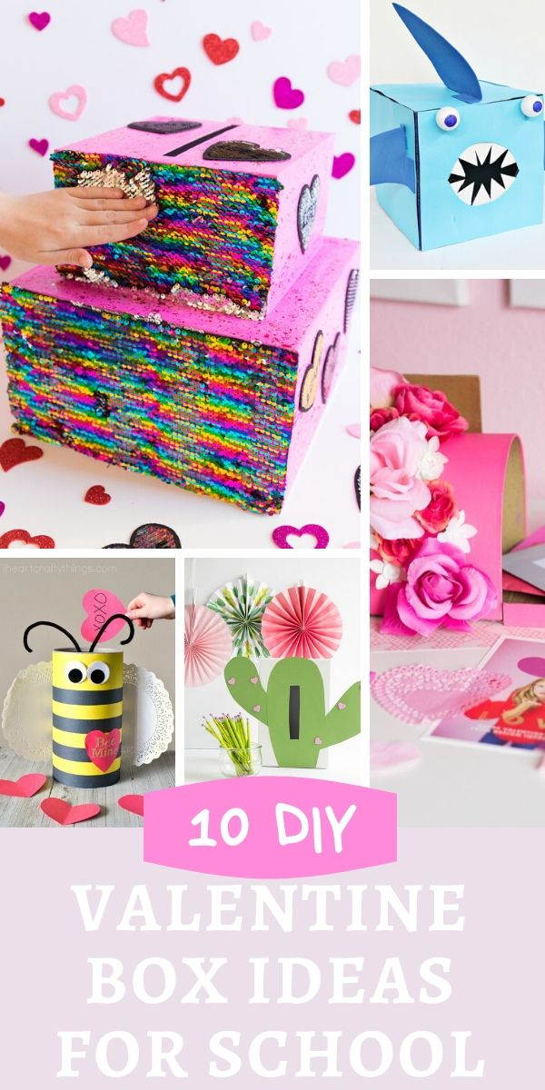 Cute DIY kids Valentines holders