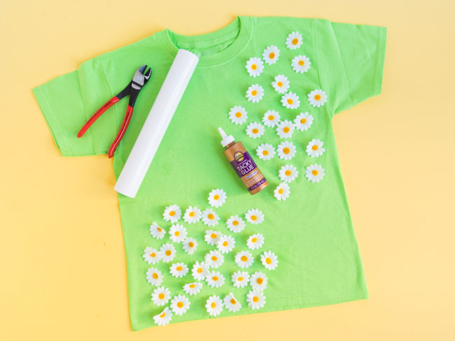 Supples for 100 days of school shirt