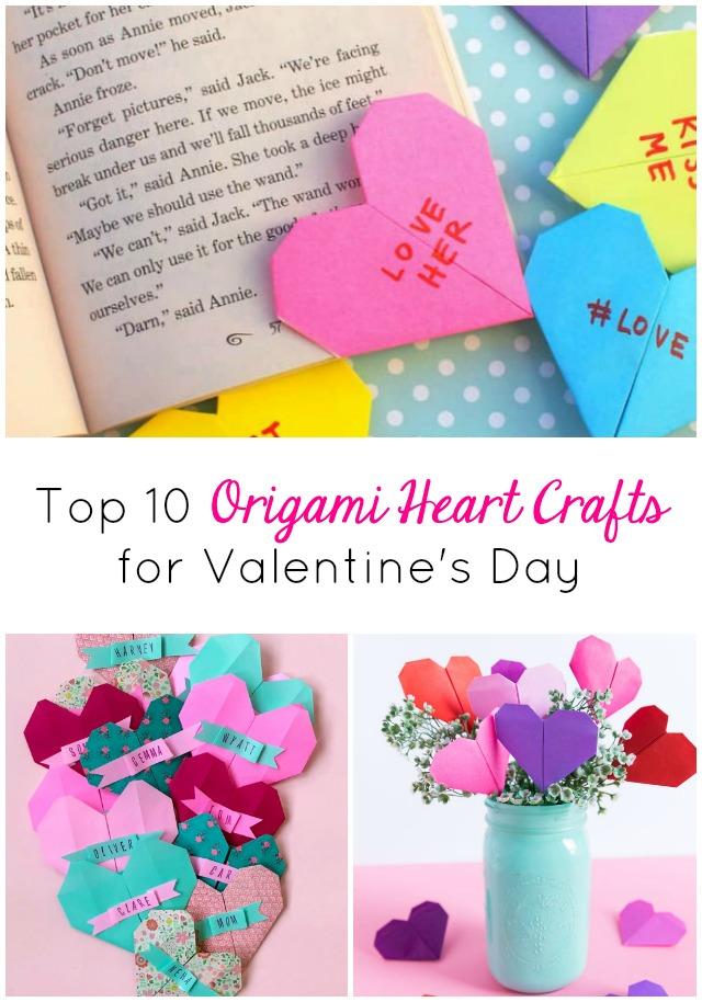 Origami Heart Envelope Folding Instructions | 914x640