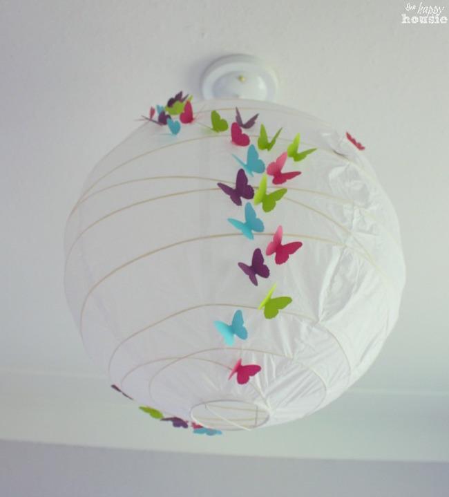 DIY Butterfly Lantern