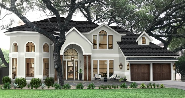 Brick and Batten home exterior design service