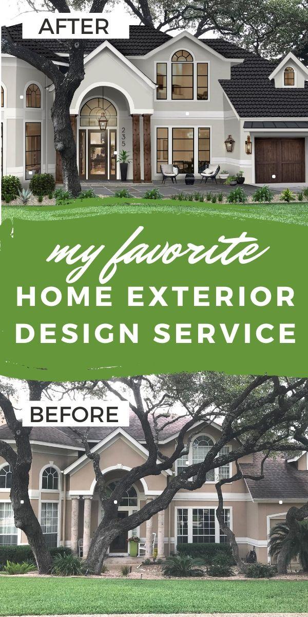 Virtual Home Exterior Design Service