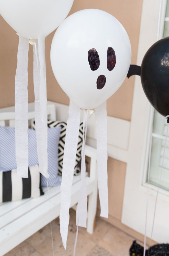 How to make ghost balloons