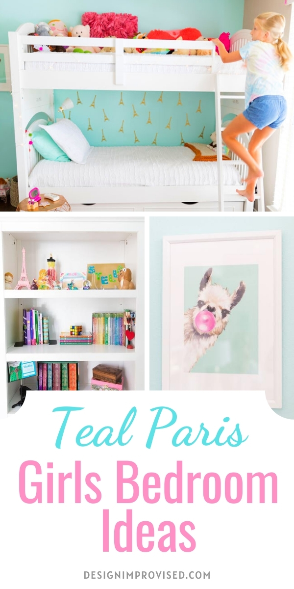 Paris Themed Girls Bedroom Decor