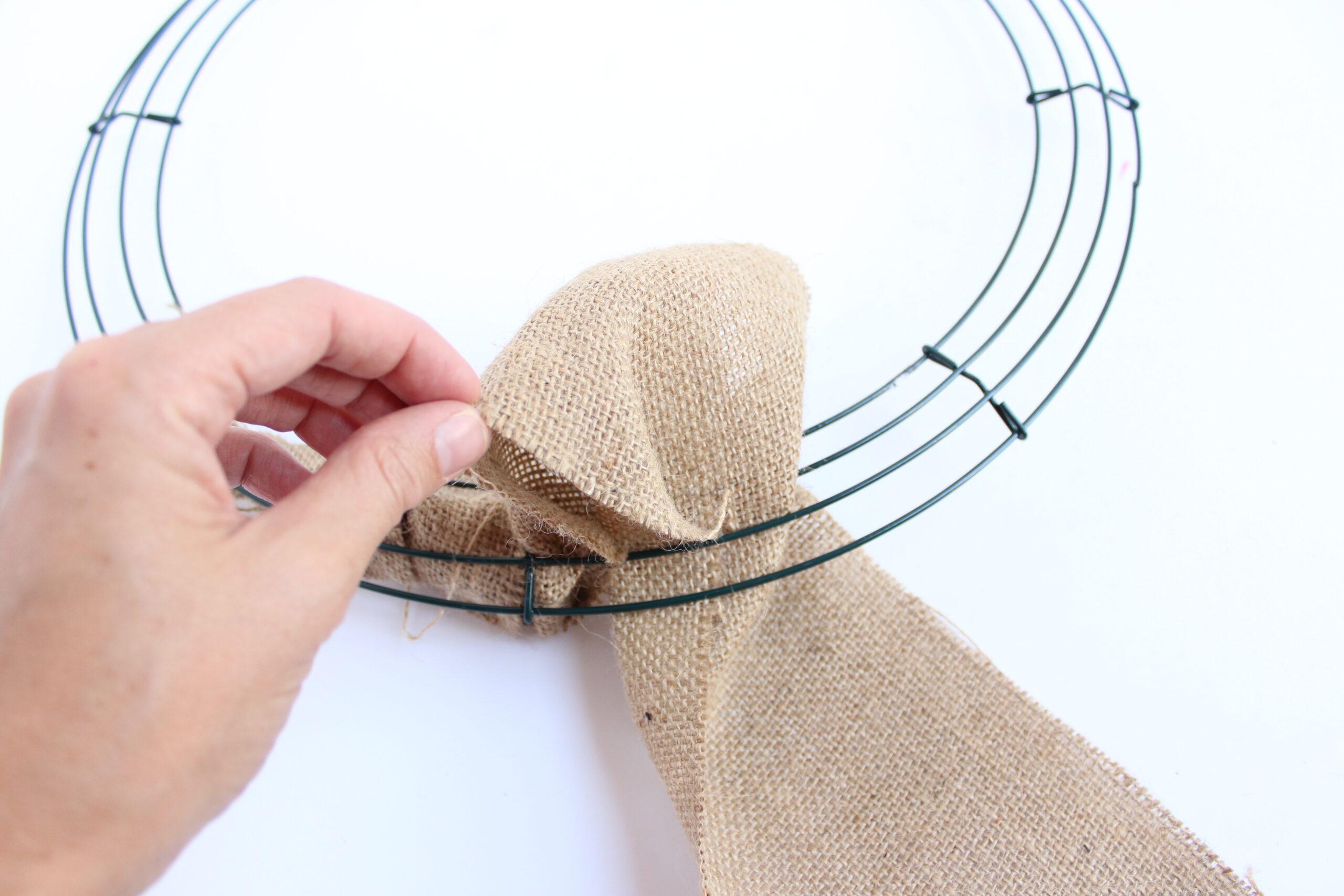 How to create a burlap loop