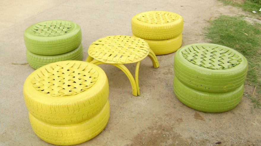 Outdoor Furniture Recycled Materials