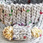 Bling Bam Bangle and DesigningVashti Lotus yarn
