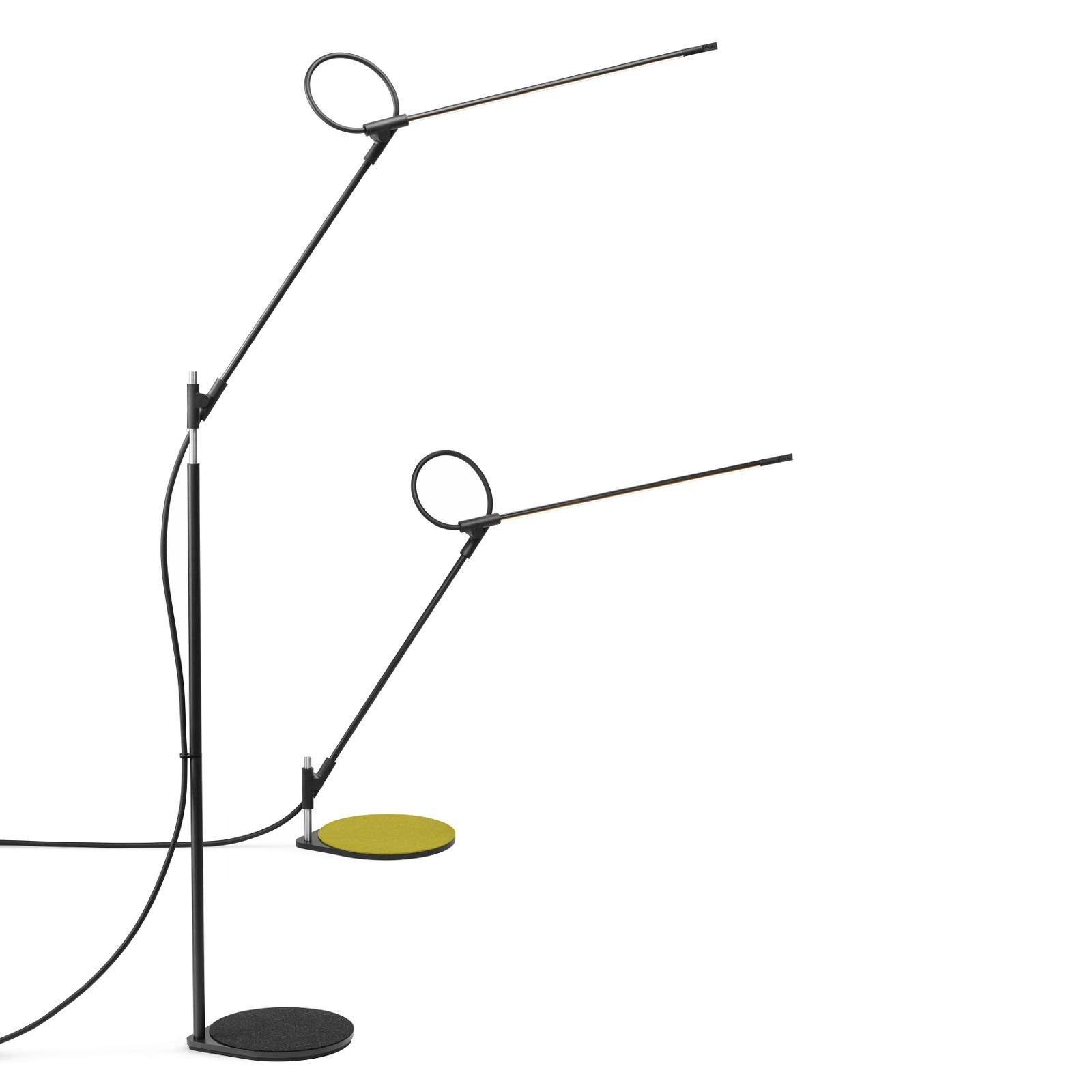 Pablo Designs Superlight Led Floor Lamp Black