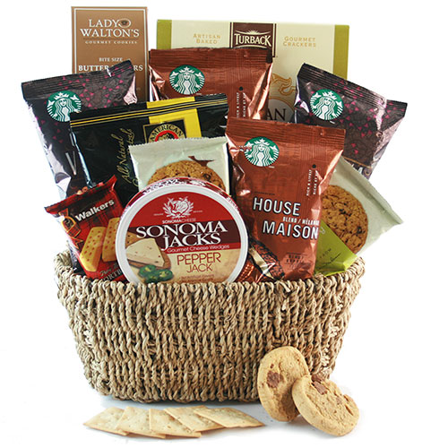 Starbucks Coffee Gift Baskets Starbucks Sensation