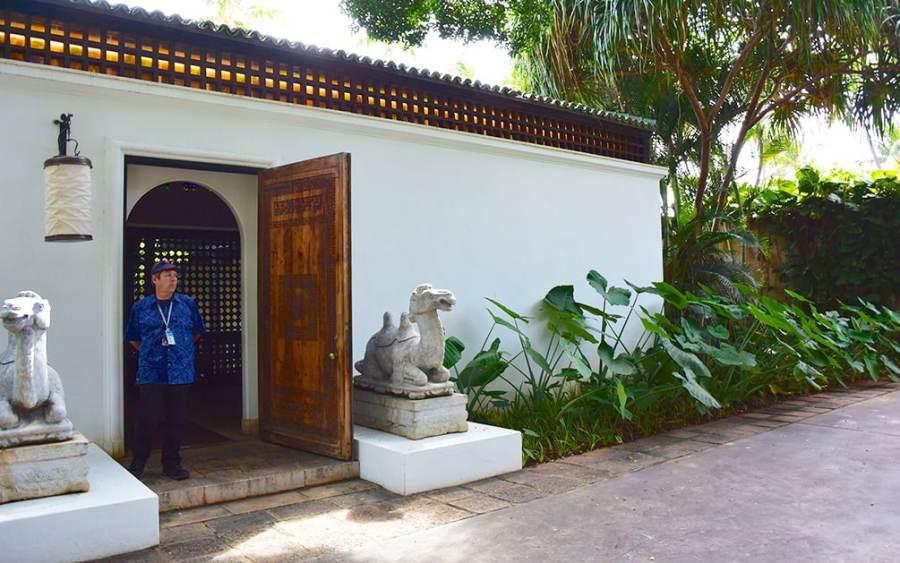 entrance to Shangri La, Honolulu