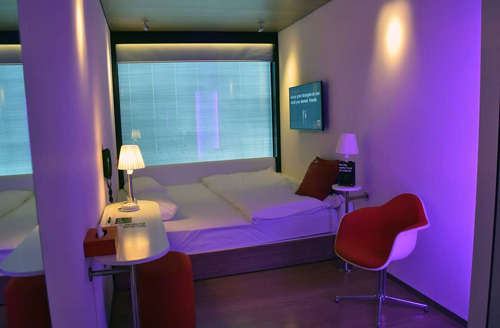 Room at CitizenM hotel