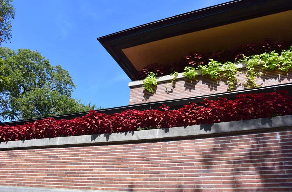 Frank Lloyd Wright's Robie House in Chicago