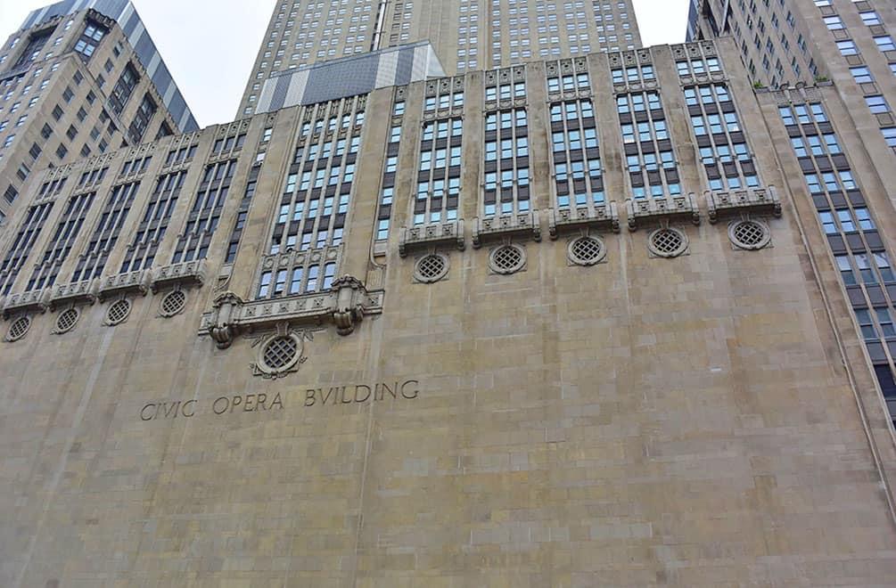 Chicago Civic Opera Building
