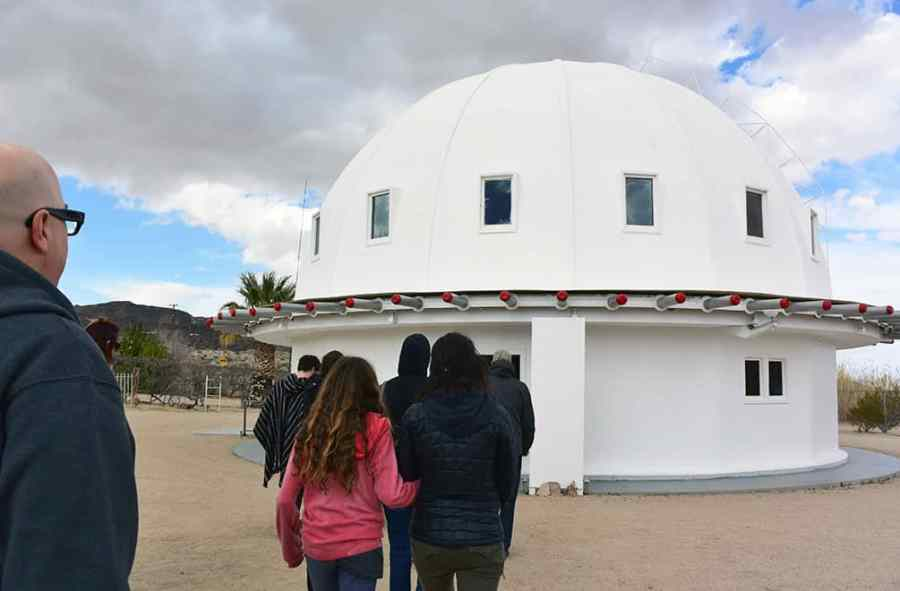 Entering the Integratron