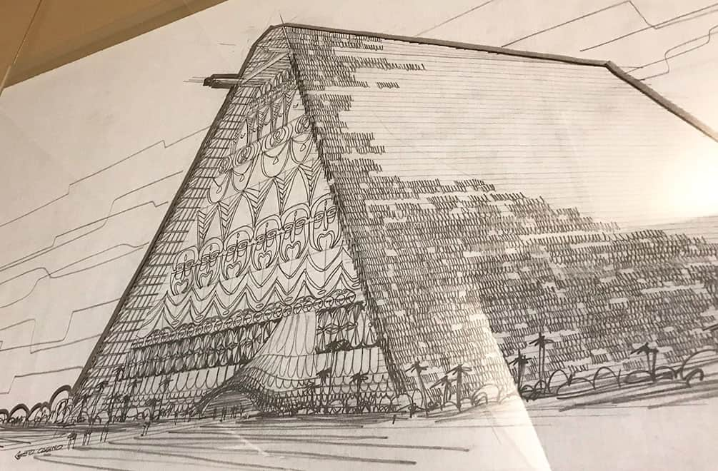 Architectural sketch of