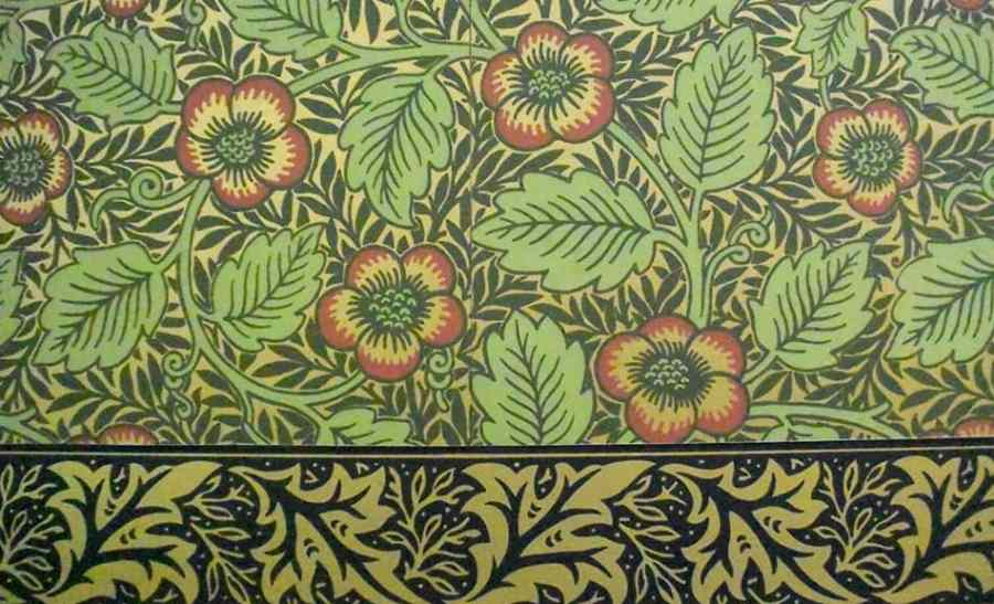 Bradbury & Bradbury wallpaper detail