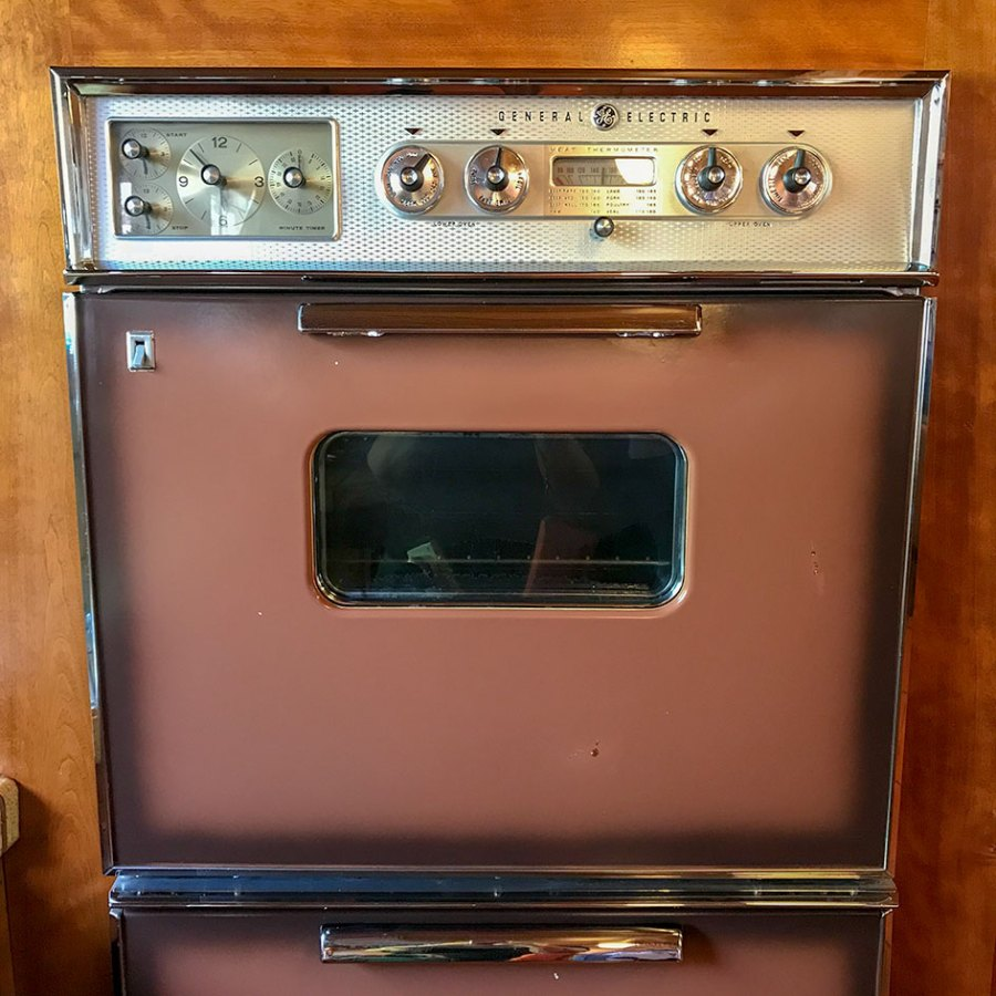 Morelli House oven