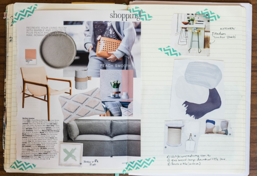 The Humble Notebook An Essential Interior Design Tool By Melinda McQueen    Develop Your Style |